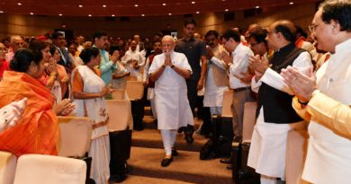 BJP's first parliament party meet; PM Modi talks tough to his MP's